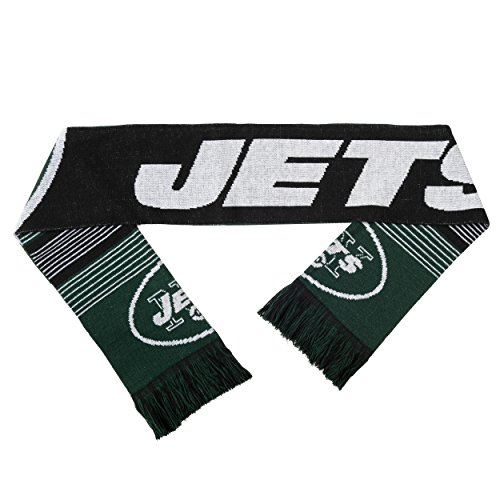 New York Jets Reversible Split Logo Scarf