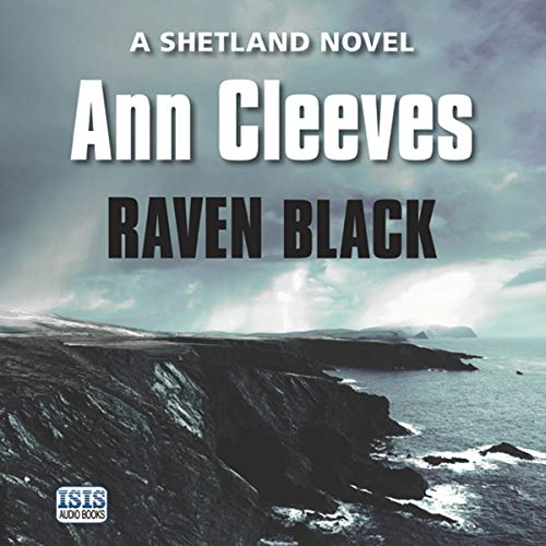 Raven Black audiobook cover art