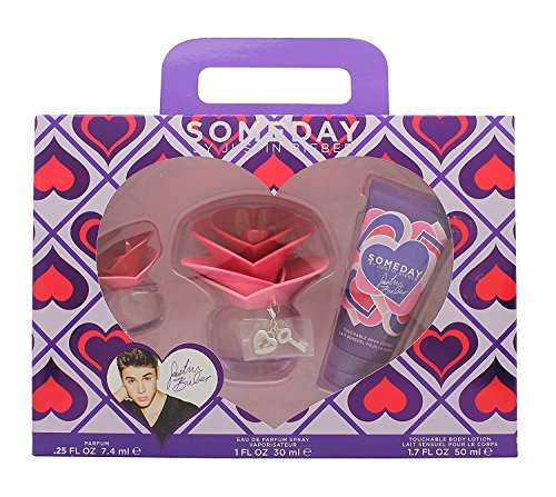 Justin Bieber Someday Geschenkset 30ml EDP + 50ml Body Lotion + 7.4ml Mini