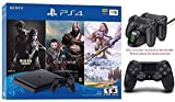 Newest Playstation 4 Holiday Bundle- Only on Playstation PS4 Console Slim Bundle - Included 3X Games and HESVAP Valued 29.99 Controller Charging Station Dock