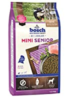 ボッシュ ミニシニア 7歳以上 高齢犬用総合栄養食 全犬種用 小粒 ハイプレミアム ドッグフード 1kg