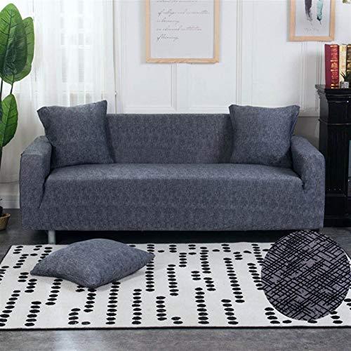 Spandex Slfcover Sofá Sofá geométrico elástico Cubierta de sofá Universal Cubierta de sofá para sofá para Sala de Estar sofá Funda (Color : Color 16, Specification : 1 Seat 90 140cm)