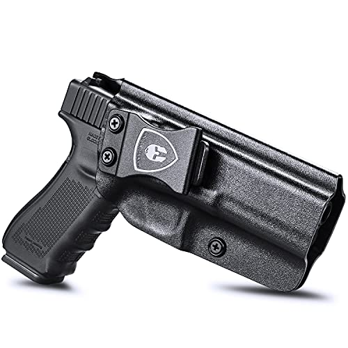 Compatible with Glock 17 Holster, IWB Kydex Holster Fit:...