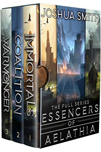 Essencers of Aelathia: The Complete Series Box Set: (An Epic Fantasy Saga) (English Edition)