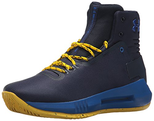 Under Armour Under Armour Herren Grade School Drive 4 Basketball Schuhe, dunkelblau, UK-Größe 5