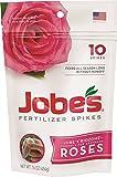 Best Rose Fertilizers - Jobe's 04102 Rose Fertilizer Spikes, 10, Multicolor Review