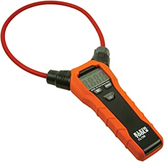 Klein Tools CL150 Clamp Meter, Flexible Clamp AC Current Meter with True RMS Readings, Auto Ranging and More