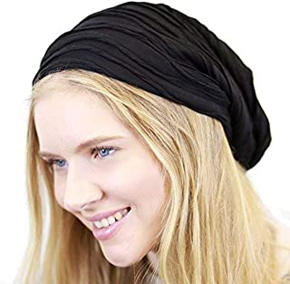 The Hat Depot 200h2800 Long Baggy Wrinkled Slouchy Fleece Lining Beanie Winter Hat