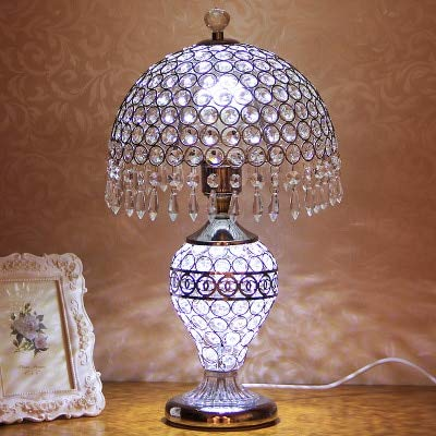 RAQ tafellamp moderne slaapkamer nachtkastje European Light zilver