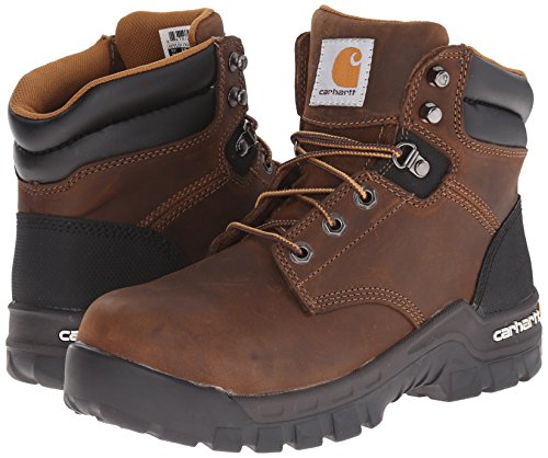 Carhartt Women's Rugged Flex 6 INCH COMP Toe CWF5355-W, Brown, 7.5 M US