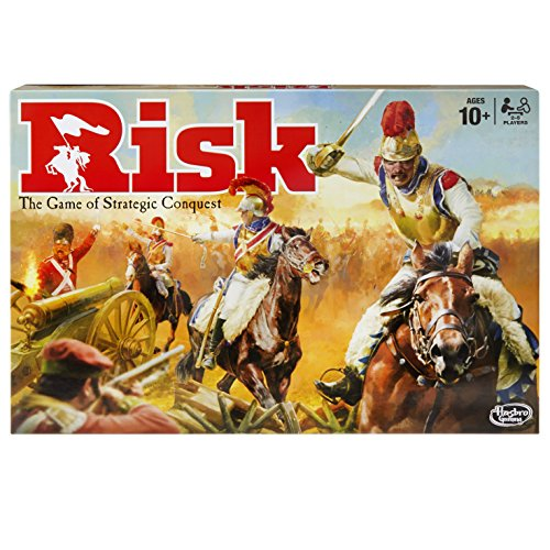 HASBRO EUROPE TRADING BV Risk Game – Strategiespiel [UK Edition]