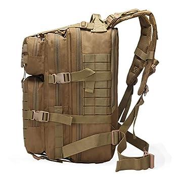 Sac à Dos Tactique 50L, Sac à Dos Militaire 50L, Sac à Dos Molle, Sac à Dos armée, Sac d'escalade de Chasse au Trekking