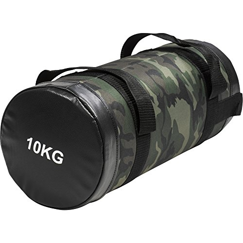 GORILLA SPORTS Fitness Sandbag Training Fitnessbag Powerbag Gewicht Sandsack Camouflage 5-15 kg Farbe 10 KG