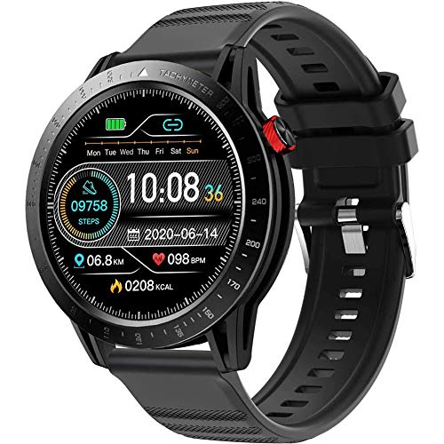 DOOK Smartwatch, Reloj Inteligente Impermeable IP68 para Hombre Mujer Niños, Pulsera De Actividad Inteligente con Monitor De Sueño Contador De Pulsómetros Podómetro para Android iOS