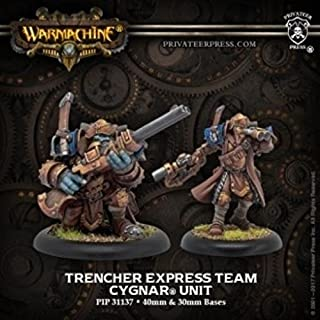 Trencher Express Team ??? Cygnar Unit (resin/metal)