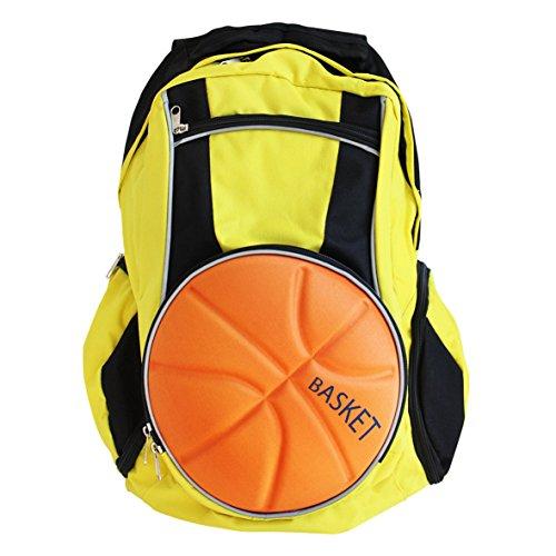 diapolo Basketball Sac à dos Sac de sport Sac Plusieurs couleurs Composition, jaune/noir