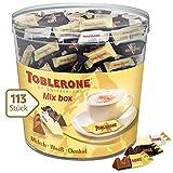 Toblerone Mixed Minis 1 x 904g Dose, Feine Schweizer Schokolade in drei Sorten mit Honig- und...