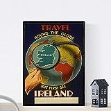 Vintage Poster Nacnic. Vintage Poster Europa. Treffen
