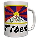 Tibet Fahne Freiheit Tibet China Besetzt Himalaya Dach Der Welt - Tasse #7752