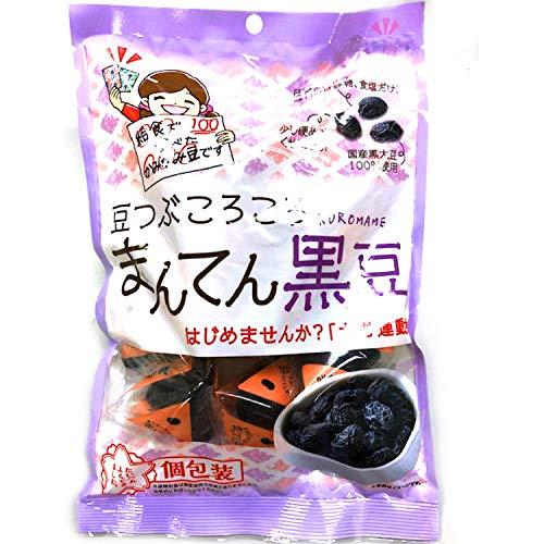 エバートラストジャパン 豆つぶころころまんてん 黒豆 個包装 75g ×6袋