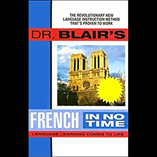 Dr. Blair's French in No Time audiobook cover art
