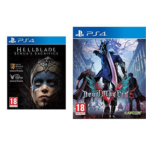505 Games Hellblade Senua's Sacrifice Playstation 4 & Capcom Devil May Cry 5 Playstation 4