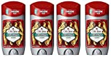 Old Spice Wild Collection Men's Deodorant, Bearglove 3 oz (Pack of 4)