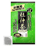 ユウキ製薬 徳用 二度焙煎 杜仲茶 3g×60包