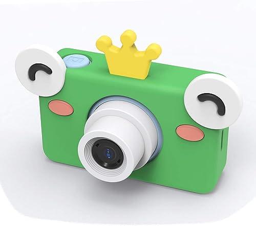 gran selección y entrega rápida ZFD 2.0 Pulgadas de cámaras para Niños Mini videocámara Digital Digital Digital con Bricolaje Pegatinas de Dibujos Animados Niños Lindos Regalo de Juguete Niños cámara para Niños Niños niñas,Frog  nuevo estilo