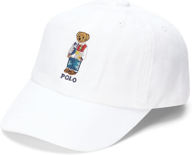 Polo Ralph Lauren Little Boys Polo Bear Oxford Ball Cap