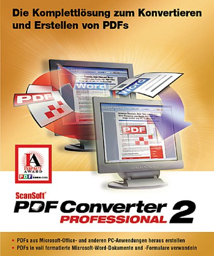 Scansoft PDF Converter Pro 2.0 W32