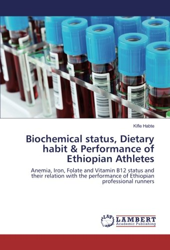 Biochemical status, Dietary habit & Performance of Ethiopian Athletes: Anemia, Iron, Folate and Vitamin B12 status and their relation with the performance of Ethiopian professional runners
