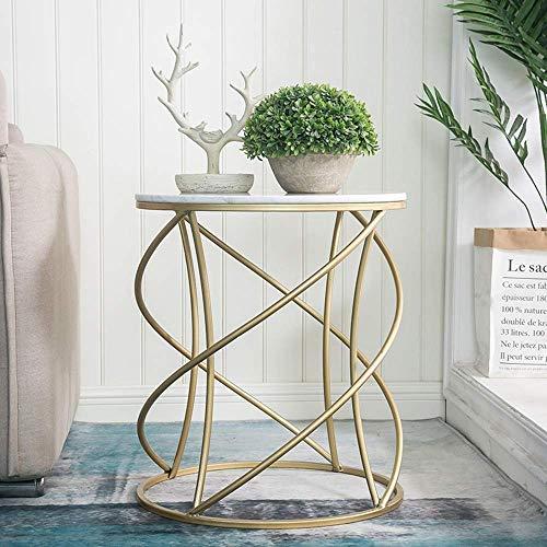 Home&Selected Furniture / Nordic stijl ronde tafel, tegels, sofa, salontafel, balkon, tijd, plantentabel, rek 50 x 57 cm (kleur: B)