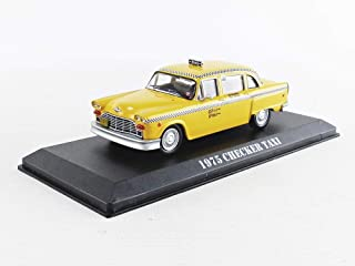 Travis Bickle's 1975 Checker Taxicab - Taxi Driver (1976), Authentic Movie Decoration, Chrome Accents, Real Rubber Tires, True-to-Scale Detail, Limited Edition
