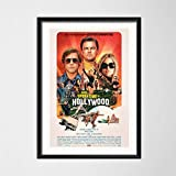 MXLF Leinwand-Malerei Once Upon A Time In Hollywood Quentin