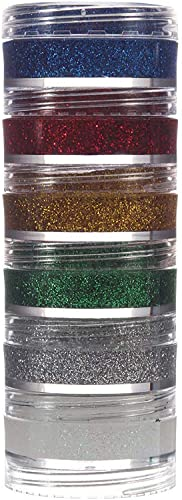 Glitter Cremoso Kit 6 Cores, Colormake