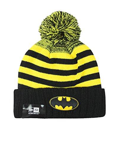 New Era Batman Snowfall Striped Knit Hat