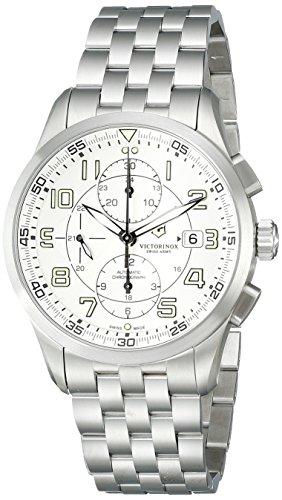 Victorinox Men's 241621 AirBoss Analog Display Swiss Automatic Silver Watch