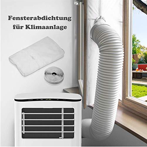 Sellado de ventanas para aires acondicionados móviles, aires acondicionados, para fijación a ventanas, tragaluces, ventanas abatibles / aire acondicionado de sellado de ventanas 400 cm Nuevo