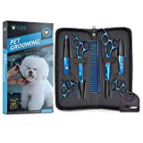 Best Grooming Shears For Dogs - EVEN Professional Dog Grooming Scissors Set for Cats Review