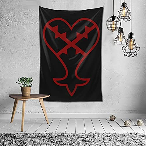 Póster de pared con diseño de corazón Kreuz para decoración del hogar, sin corazón, funda para teléfono más de 152,4 x 101,6 cm