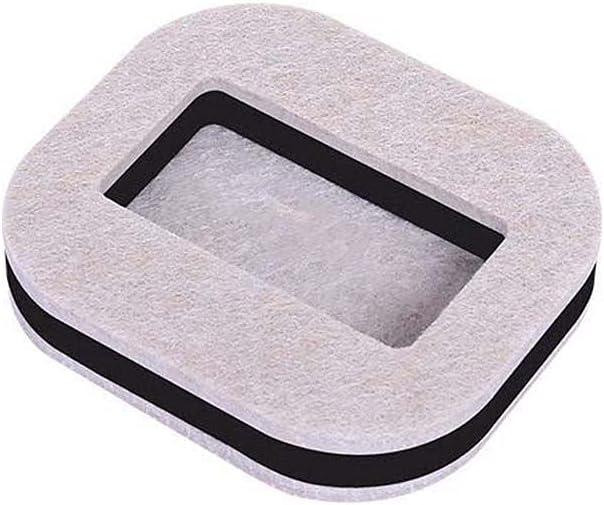 ZUGOU 5pcs Furniture Cups San Jose Max 87% OFF Mall Caster Coasters Rubber