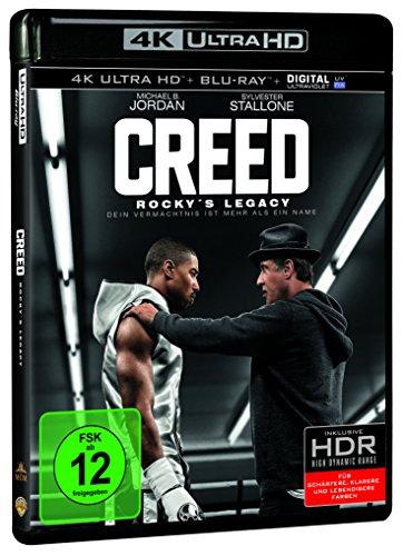 Creed - Rockys Legacy (4K Ultra HD + 2D-Blu-ray) (2-Disc Version) [Blu-ray]
