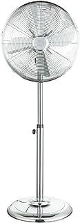 GLOBO Ventilador Moderno de Suelo con Motor 50W 230V, oscilobatiente y con 3 velocidades