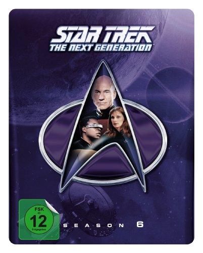 Star Trek: The Next Generation - Season 6 (Steelbook) [Blu-ray] [Limited Collector's Edition] [Limited Edition] (exklusiv bei Amazon.de)