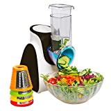 Secura Electric Salad Maker Food Processor (Black)