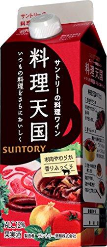 サントリー 料理天国 赤 500ml×12本