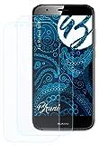 Bruni Schutzfolie kompatibel mit Huawei GX8 Folie, glasklare Bildschirmschutzfolie (2X)