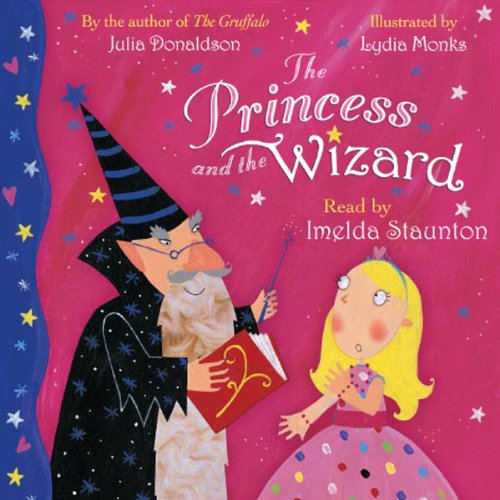 The Princess and the Wizard audiobook cover art