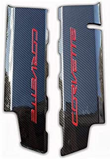 Performance Corvettes C7 LT1 Carbon Fiber HydroGraphics Fuel Rail Engine Covers